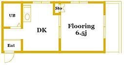 SKハイツ神大寺[2階]の間取り