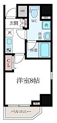 ハーモニーレジデンス東京イースト002[2階]の間取り