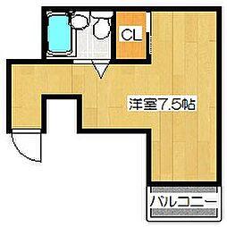 Ysマンション[202号室]の間取り
