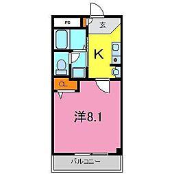 東浦町 CASA LUMACA[0103号室]の間取り