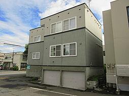 北海道札幌市東区北二十一条東13丁目の賃貸アパートの外観
