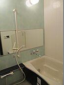 浴室 ユニットバス 浴室鏡・手すり付き