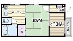 上川ビル[101号室]の間取り