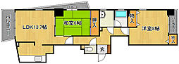 恵比須ビル[8階]の間取り