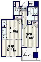 K's新中野[9階]の間取り