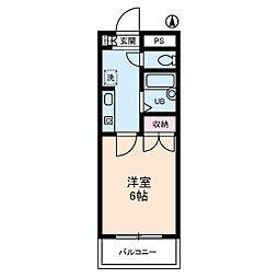 グローイングシティー大和田[0405号室]の間取り