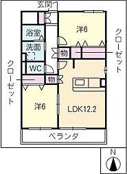 muraille[2階]の間取り