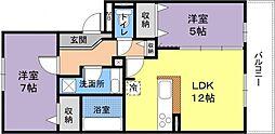 Fiorente Due[3階]の間取り