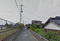 全面道路の写真です。
