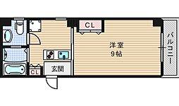 ボヌールエイワ[3階]の間取り