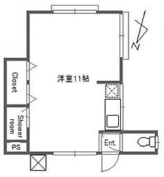 ミサワハイツ[2階]の間取り