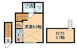 happy上板橋 〜ハッピー上板橋〜[2階]の間取り