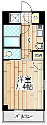 プライムハウス[3階]の間取り