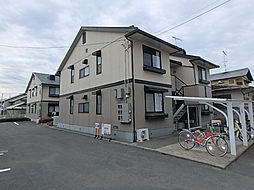 愛媛県松山市東野1丁目の賃貸アパートの外観