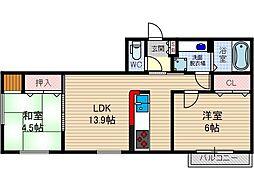 Casa filante Vol.II[2階]の間取り