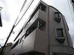 東京都中野区若宮2丁目の賃貸マンションの外観
