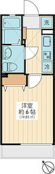 BUZZ 新浦安[206号室]の間取り