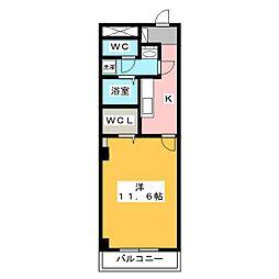 サンホープ[2階]の間取り