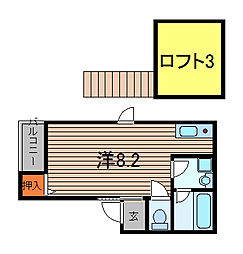 リーフレット[2階]の間取り