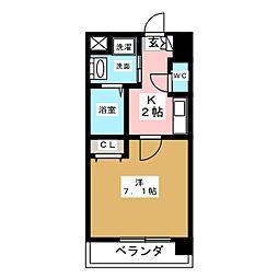 アルバ大須[7階]の間取り