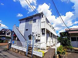埼玉県狭山市入間川1丁目の賃貸アパートの外観