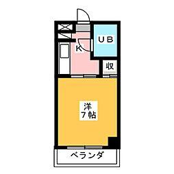 篠原ビル[2階]の間取り