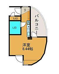 コバシアーバンビル[3階]の間取り
