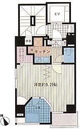 サンクチュアリ新宿御苑アネックス[201号室号室]の間取り