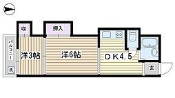 三浦ハイム[203号室]の間取り