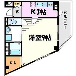 サクセス武庫川[2階]の間取り