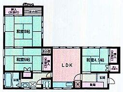 [一戸建] 神奈川県伊勢原市高森台1丁目 の賃貸【/】の間取り