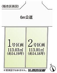 区画図 2号区