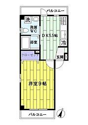 メゾンオオクラ[3階]の間取り