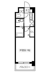 パークサイドアベニュー[4階]の間取り