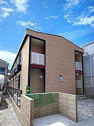 兵庫県尼崎市杭瀬北新町1丁目の賃貸アパートの外観