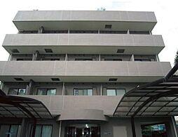 東京都新宿区市谷甲良町の賃貸マンションの外観
