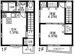 [テラスハウス] 神奈川県横浜市西区西戸部町2丁目 の賃貸【/】の間取り