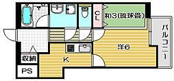 K−FLAT[304号室]の間取り