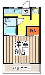 第一志賀荘[2階]の間取り