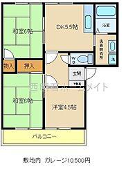 ソーシャルライフガーデン2[2階]の間取り