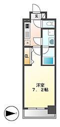 PRIME URBAN IZUMI[4階]の間取り