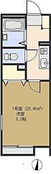 リバーサイド藍蓼(アイダテ)[1階]の間取り