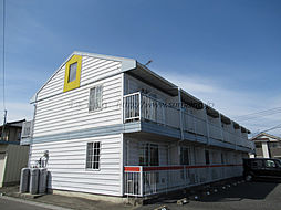 埼玉県本庄市朝日町の賃貸アパートの外観
