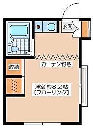コート清原[2階]の間取り