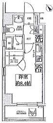 スパシエ国立矢川ステーションプラザ[201号室]の間取り