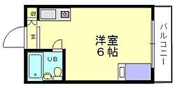 アーバンハイツ梅香[5階]の間取り
