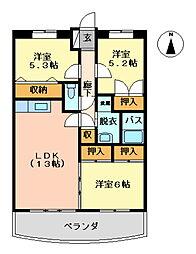 第2古賀ビル[5階]の間取り