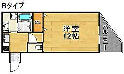 パークサウス[3階]の間取り