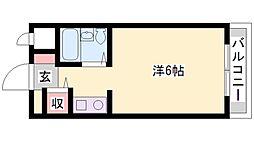 ベルトピア加古川[6階]の間取り