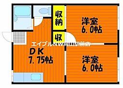 カムフォートT・S[1階]の間取り